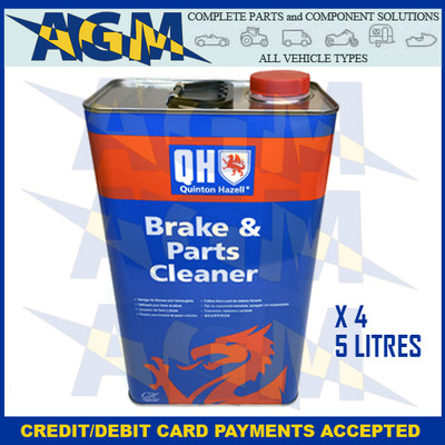 Quinton Hazell QHB005  Brake And Clutch Cleaner 5 Litre Can Box Of 4