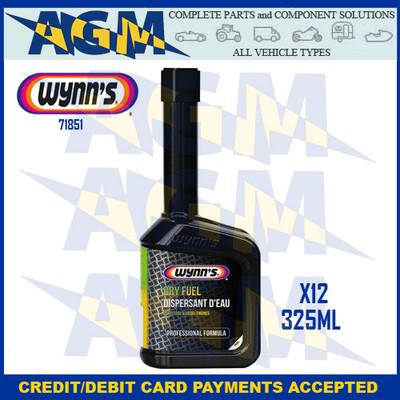 Wynns Professional 71851 Dry Fuel - 325ml Bottle Petrol/Diesel (Pack of 12)