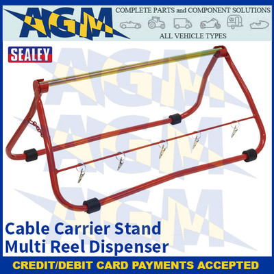 Sealey CC01 Cable Carrier Stand Multi Reel Dispenser
