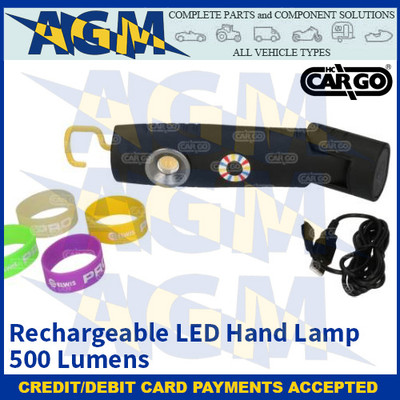 CARGO 172234 - Rechargeable LED Hand Lamp - 500 Lumens