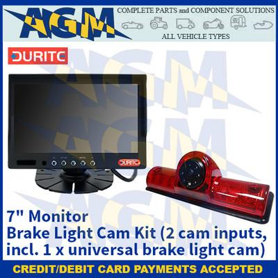 "Durite 0-099-40 7"" Monitor Brake Light Cam Kit (2 cam inputs, incl. 1 x universal brake light cam)"
