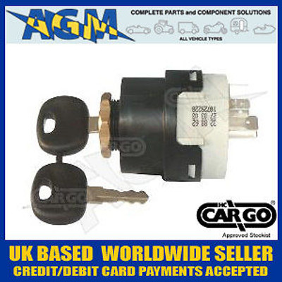 Cargo 180041 Popular 4 Position Ignition Switch 12/24v