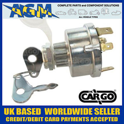 Cargo 181235 Popular 4 Position Agricultural + Plant Ignition Switch with Pre-Heat