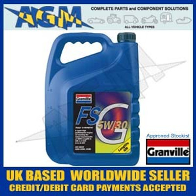 Granville 2403 FS-G 5W30 Fully Synthetic BMW & GM Long Life Engine Oil 5 Ltr