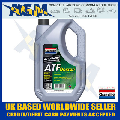 Granville, 0175, ATF, Universal, Automatic, Transmission, Fluid, 5LT