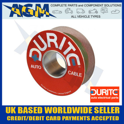 Durite 0-942-04 Green Single Core Cable 50M Roll