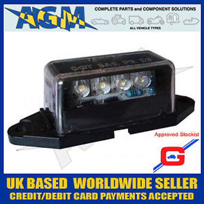 Guardian RL6 LED Number Plate Lamp/Light 12/24v