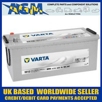 (Collection Or Local Delivery Only)Varta Silver M18 (629) Super Heavy Duty Up-rated CV Battery 680 108 100
