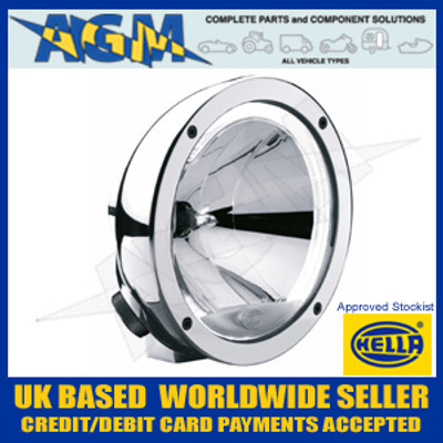 Hella 1F1 009 094-051 Chrome Luminator Compact Angel Eye/Celis Driving Lamp 12/24v