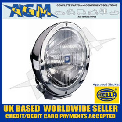 Hella 1F3 009 094-031 Chrome Luminator Compact Clear Driving Lamp 12/24v