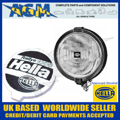 Hella 1F7 004 700-391 Rallye 1000 Clear Glass Spot/Driving Lamp