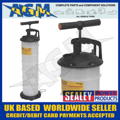 Sealey TP69 Vacuum Oil & Fluid Extractor Manual 6.5 Ltr
