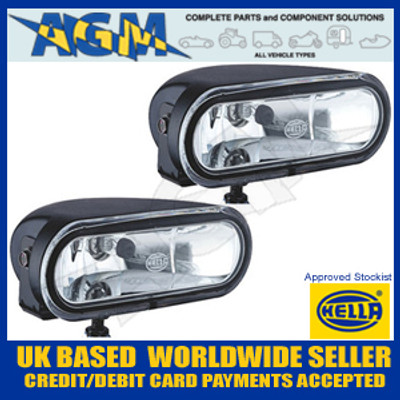 Hella FF75 12v Magnesium Fog Light Set (CLEAR) 1NA 008 284-801