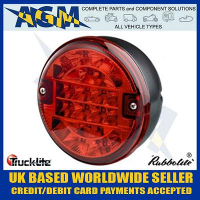 Trucklite 810/53/00 LED Hamburger Style Fog Hazard Lamp 12v/24v
