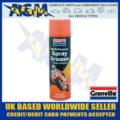 Granville 1081 Multi- Purpose Spray Grease and Chain Lubricant 500ml Aerosol