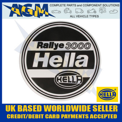 Hella Protective Cover for the Rallye 3000 Spot/Fog Lamp