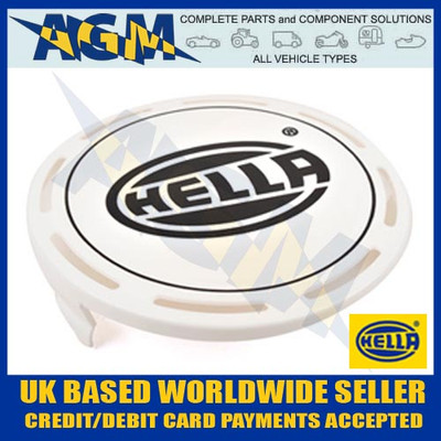 Hella 8XS 147 945-001 Luminator And Rallye 4000 Protective Cover For Spot / Fog Driving Lamp