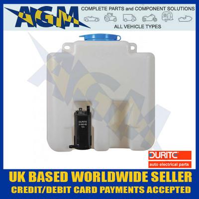 Durite 0-594-00 Universal Windscreen Washer Bottle Kit 12 Volt - 3.0 Litre