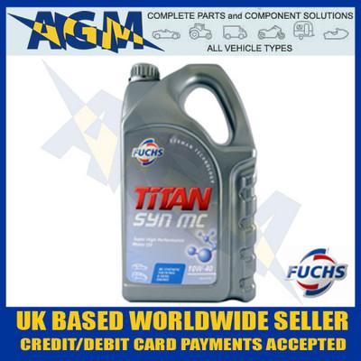 Fuchs 600825515 SYN MC 10w/40 Synthetic Oil 5 LTR ACEA A3/B4 API SL/CF BMW VW