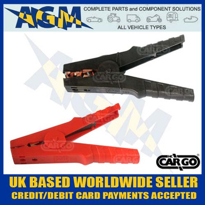 jump, lead, crocodile, clips, clamps, red, black, terminals, 600, amp