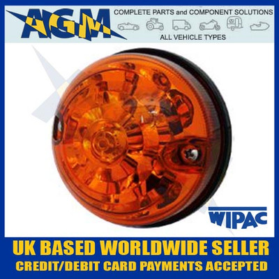 land, rover, s6061led, lsl, rdx, 73mm, 74mm, amber, indicator, lamp, light, 12v, 24v