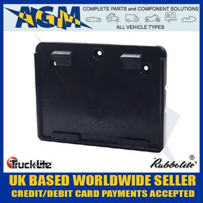 genuine, trucklite, 645/01/00, square, trailer, number, plate, holder