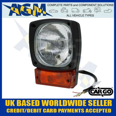 jcb, headlamp, indicator, 171006, 0-424-00, lh, rh