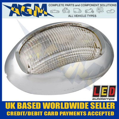 led, autolamps, marine, 52cw, white, stern, masthead, navigational, lamp