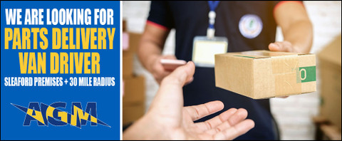 Parts Delivery Van Driver Required