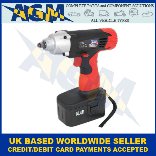 Sealey CP1440MH Cordless Impact Wrench 144V 3 8Sq Drive 150lbft