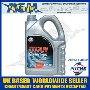 FUCHS Titan Supersyn 5W-40 High Performance Oil,600719425, fuchs oil