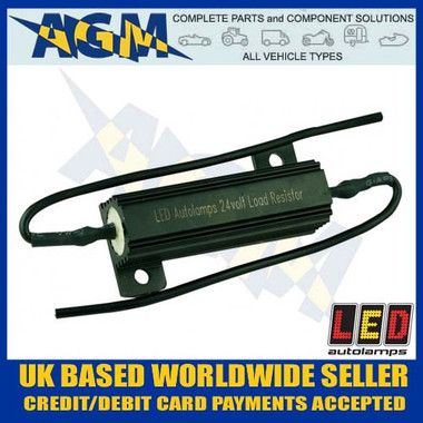 1 Led Autolamps LR24 Dummy Load Ballast Resistor for Led Indicator 24V Circuits