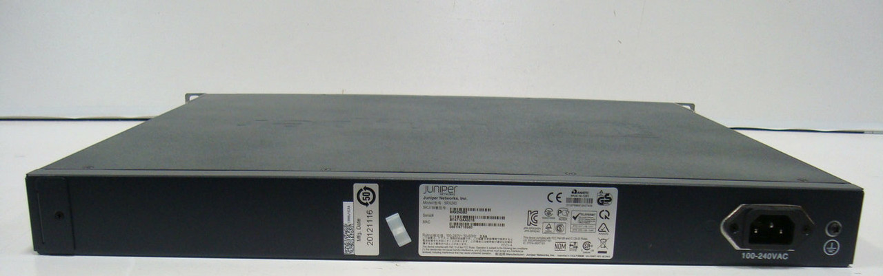 Refurbished SRX240B2 Juniper SRX240