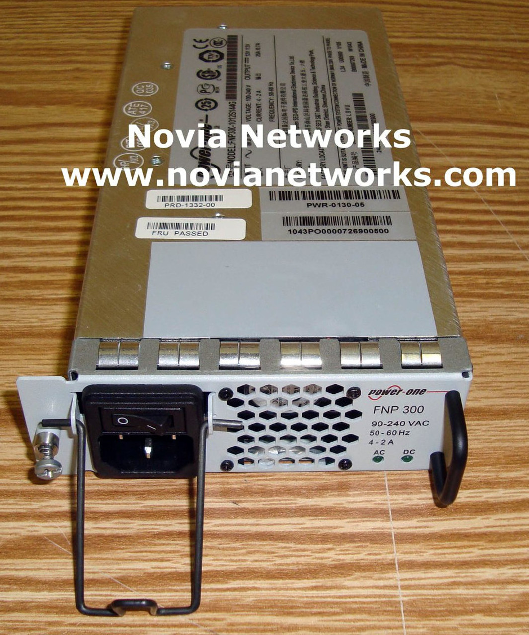 F5-UPG-AC-300W-R Field Upgrade Power Supply