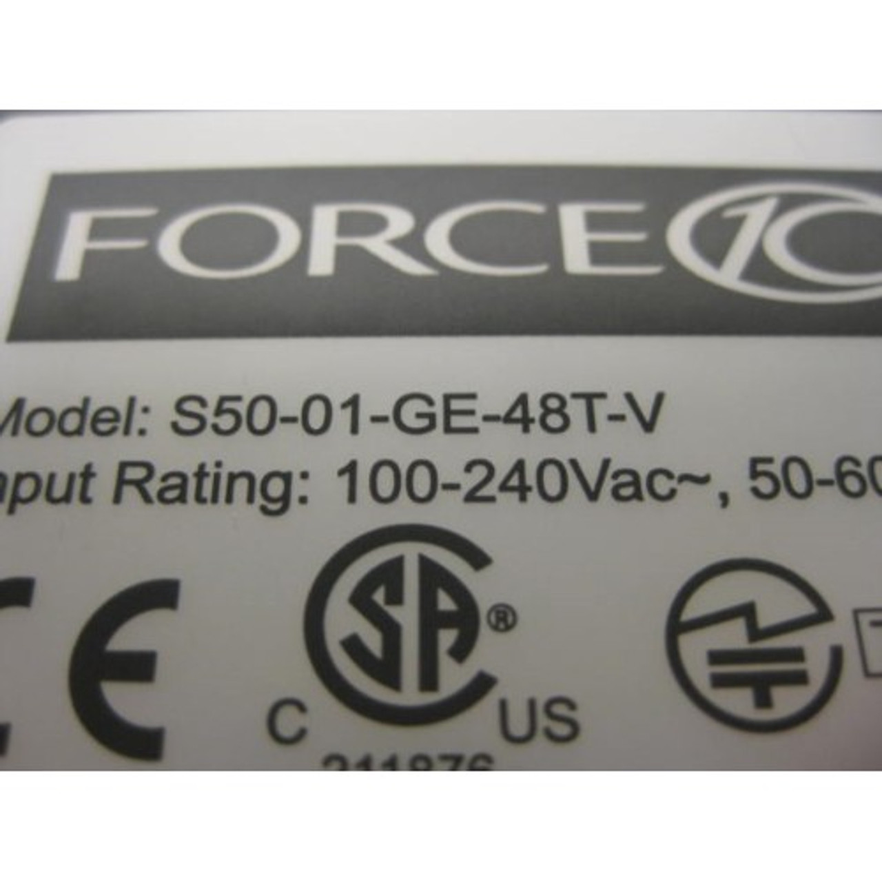Force10 S50V 48pt POE Switch