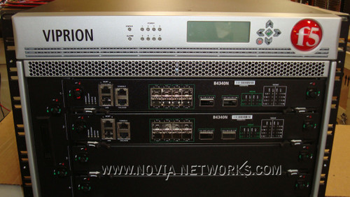 F5 VIPRION Chassis: F5-VPR-LTM-C4480-DCN