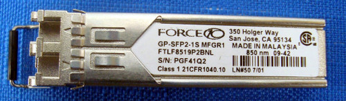 Force10 GP-SFP-1S (SFP) 850 nm SX Gigabit Optical