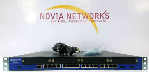 Juniper SRX240H2 16-Port GE SRX Services Gateway  Novia Networks