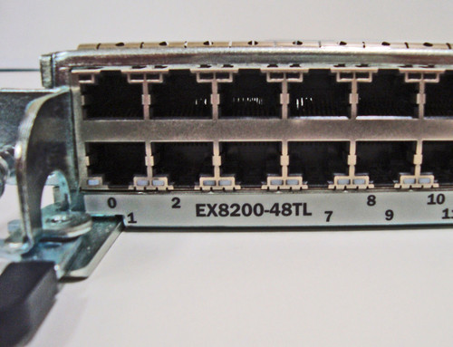 Juniper 48 Port Line Card, EX8200-48TL