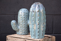 Ceramic  'Pachy' Cactus Series - Blue