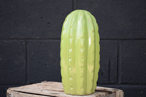 Ceramic  'Pachy' Cactus Series - Lime