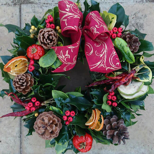 Handmade Christmas Wreaths  - 10 Inches