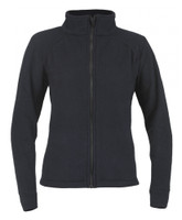 Alpha Jacket Womens, Front View, Fleece FR Jacket, Flame Resistant Jacket, Navy