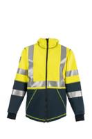 DragonWear, Elements Nova Jacket, Front View, Outerwear, NFPA 70E, NFPA 2112, ANSI 107