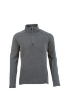 Livewire 1/4 Zip Shirt, Front View, Livewire FR Shirt, FR Quarter Zip, Flame Resistant Quarter Zip, Gray