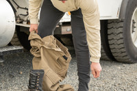 Livewire Bottoms, Front View, FR Base Layer Bottoms, Flame Resistant Base Layer Pants, Lifestyle