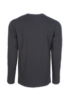 Pro Dry Long Sleeve Navy, Back View, Long Sleeve FR Shirt, Flame Resistant Long Sleeve Shirt