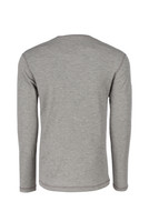 Pro Dry Long Sleeve Gray, Back View, Long Sleeve FR Shirt, Flame Resistant Long Sleeve Shirt