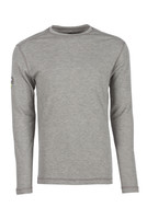 Pro Dry Long Sleeve Gray, Front View, Long Sleeve FR Shirt, Flame Resistant Long Sleeve Shirt