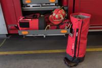 Amabilis Duffel 25L, Side View, Small Duffel Bag, Tough Duffel Bag, Lifestyle